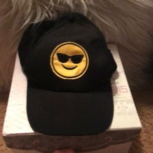 Emoji woman's ball cap for summer